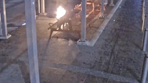 Vancouver police search for suspect, victim after homeless woman's blankets set on fire while she slept