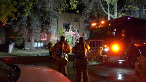 Fire damages apartment complex in Ritchie, sends 1 to hospital