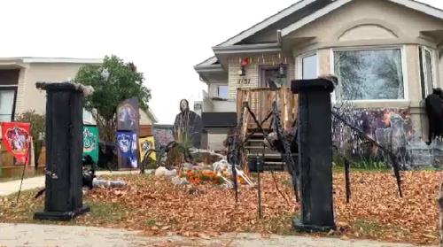Halloween home map highlights spooky Winnipeg homes
