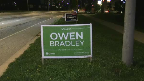 Election signs will be banned on regional roads starting in 2022