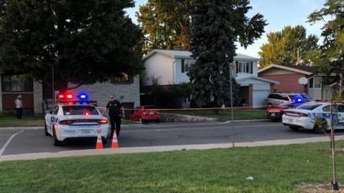 Seven people, including four-year-old child, hit by car in lineup outside Montreal polling station