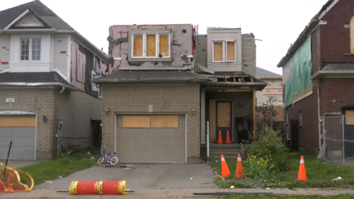 Mother Nature impacts Barrie tornado victims yet again