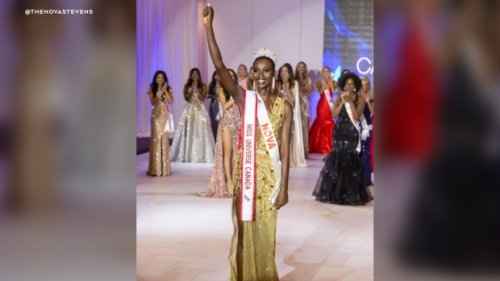 Miss Universe Canada, first Black woman to hold title, calls out racist remarks she received online