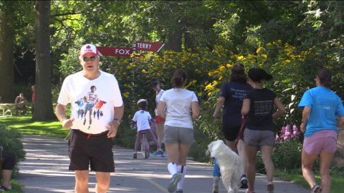 'I lost a good friend to cancer this week': Participants honour loved ones in 41st annual Terry Fox Run