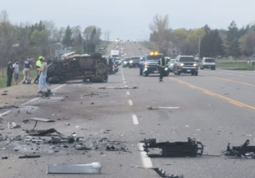 One person dies in three-vehicle Caledon collision