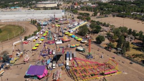 'Good to be back': Midway fun returns to Edmonton after pandemic hiatus