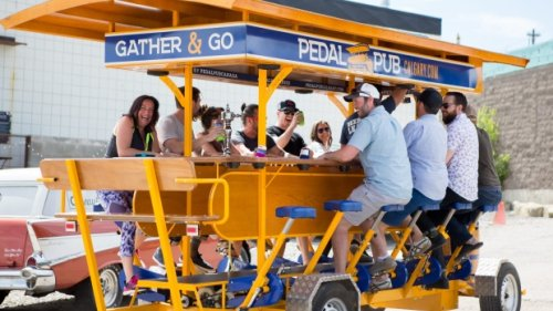 Pedal-powered patio to hit Saskatoon's streets this summer