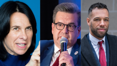 Montreal mayoral candidates square off in chaotic debate
