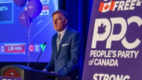 CTV News declares Maxime Bernier defeated in Beauce