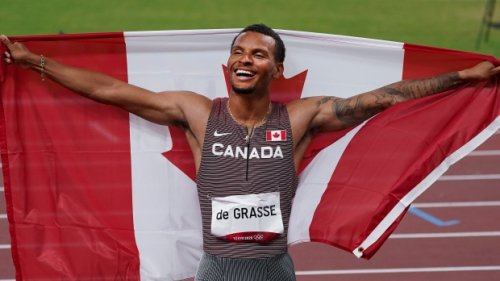 Andre De Grasse Day: Hometown hero celebrated in Markham after gold-medal win