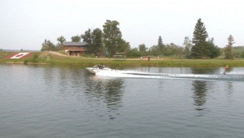 Waterskiing elite meet at Predator Bay for big competition