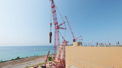 Steam generator removed from Bruce Power
