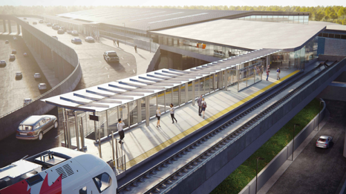 Federal government giving Ottawa Airport $6.4M toward future LRT station