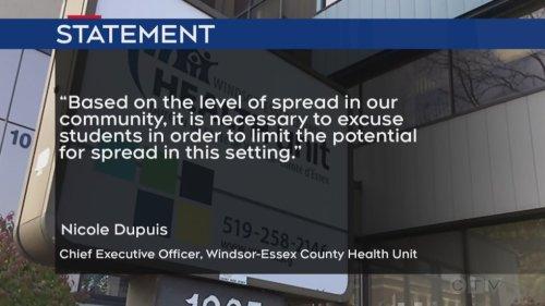 COVID-19 testing clinic being held at St Joseph's Catholic High School following school closure