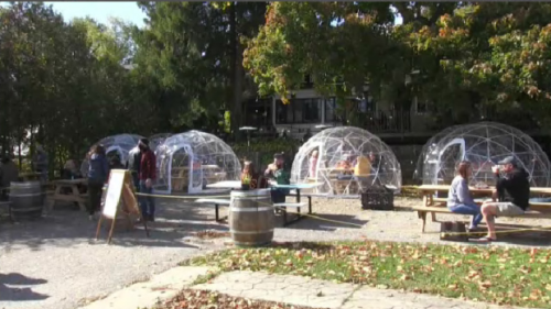Local restaurants looking to extend patio season into winter months