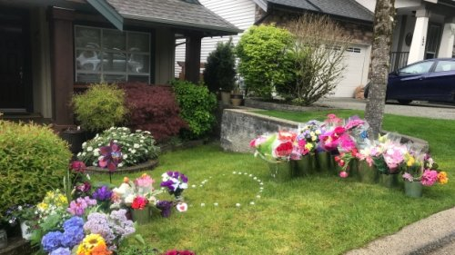 Makeshift memorial grows for Port Moody woman as homicide team investigates death