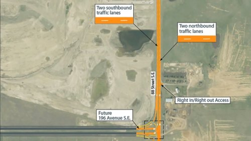 Calgary's new 88th Street S.E. extension now complete