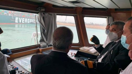 Shipping losses mount from cargo vessel stuck in Suez Canal