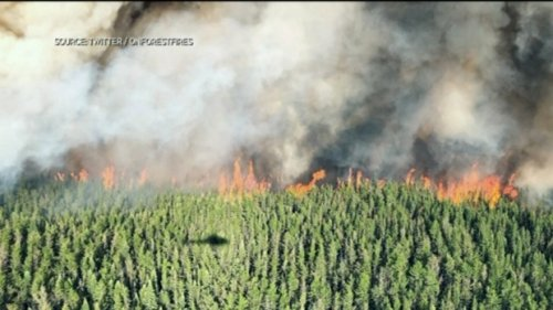 Smoke from forest fires affecting air quality over stretch of Ontario: weather office