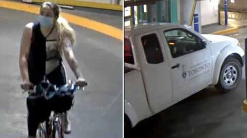 Police looking for woman who allegedly stole University of Toronto truck