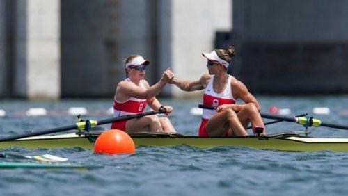 Canadians Filmer, Janssens capture rowing bronze in women's pair