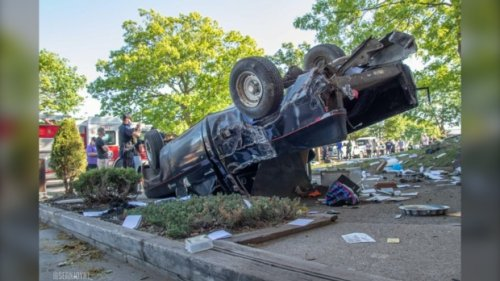 Police investigating collision in residential neighbourhood