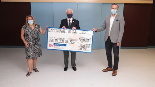 Historic $2 million donation made to Perley-Rideau Foundation