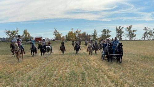 Terry Fox Run gets equine twist in Balgonie