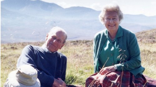 Queen shares never-before-seen photo of herself and Prince Philip