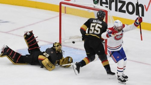 Habs even the odds in game two, come back to Montreal with a tied series against Las Vegas