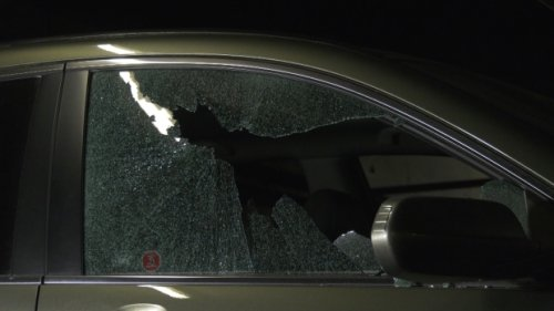 At least 12 car windows smashed in bizarre parkade rampage in Surrey