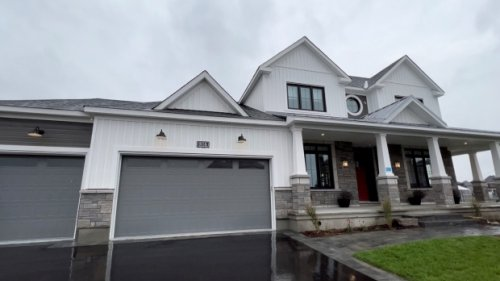CHEO Dream of a Lifetime grand prize Minto Dream Home is complete, but open to virtual tours only for now