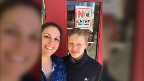 Renfrew mother anxious for son to receive Pfizer COVID-19 vaccine