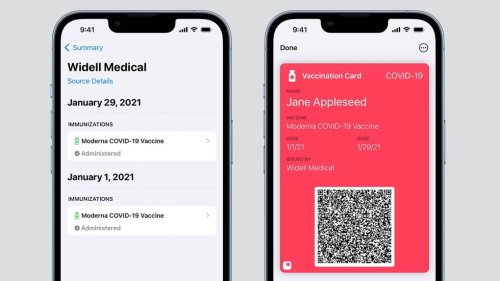 Here's how Albertans can add their COVID-19 vaccine record to Apple Wallet