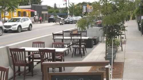 Arnprior extends patio spaces at restaurants for holiday long weekend