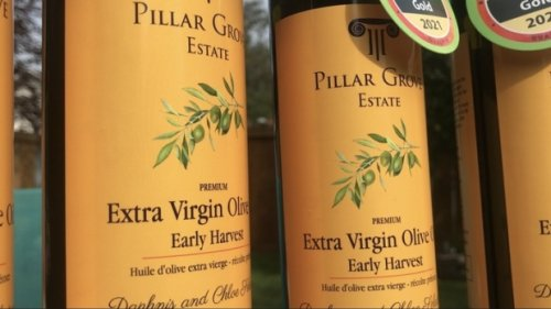 An Edmonton-area resident is producing the world's top quality olive oil