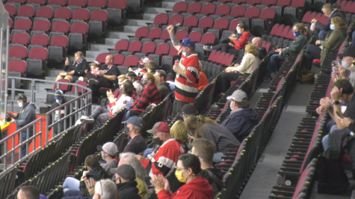 Fans trilled to be back in stands for Ottawa 67's