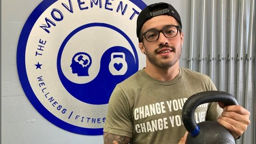 Ironman competitor working hard for change
