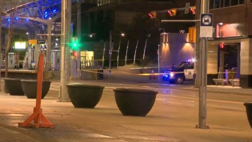 Calgary man faces 2 charges in connection with downtown stabbings