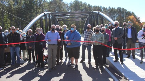 Historic Black Bridge in Bracebridge officially reopens