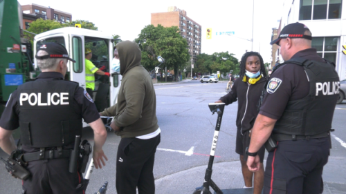 Ottawa police move from education to enforcement as e-scooter popularity soars