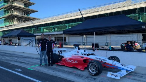 University of Waterloo students race self-driving car at Indianapolis Motor Speedway