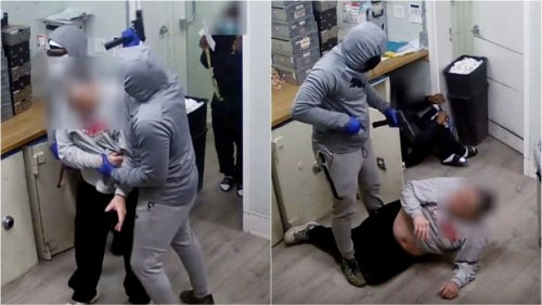 Video of violent 'million dollar heist' in Toronto released as police announce arrests