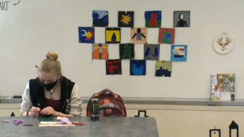 Winnipeg students collaborating on quilt in honour of MMIWG2S