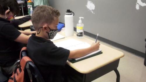 Calling for mandatory masks in schools when children return in September
