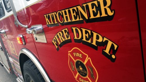 Gasoline poured down storm drain, fire blows off steel lid: Kitchener Fire