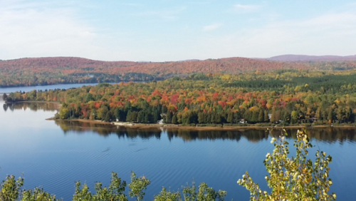 A man capsized his canoe and likely drowned in Lake Nominingue in Quebec Laurentians