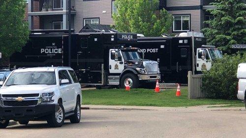 Police arrest man in south Edmonton following civil dispute