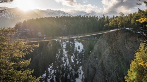 Canada's highest suspension bridge just opened in B.C.