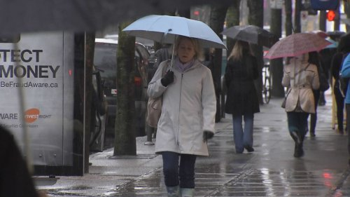 Heavy rainfall warning for South Coast: Metro Vancouver, Howe Sound, East Vancouver Island